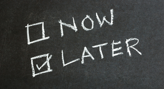 4 dicas para evitar a procrastinação crônica