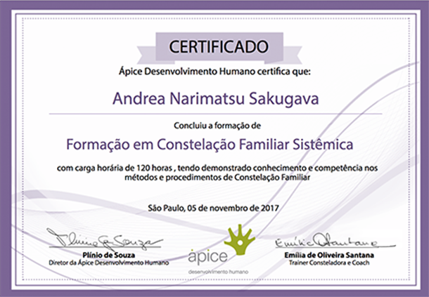certificado constelacao