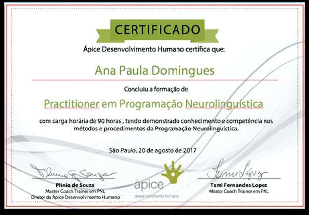 certificado practitioner